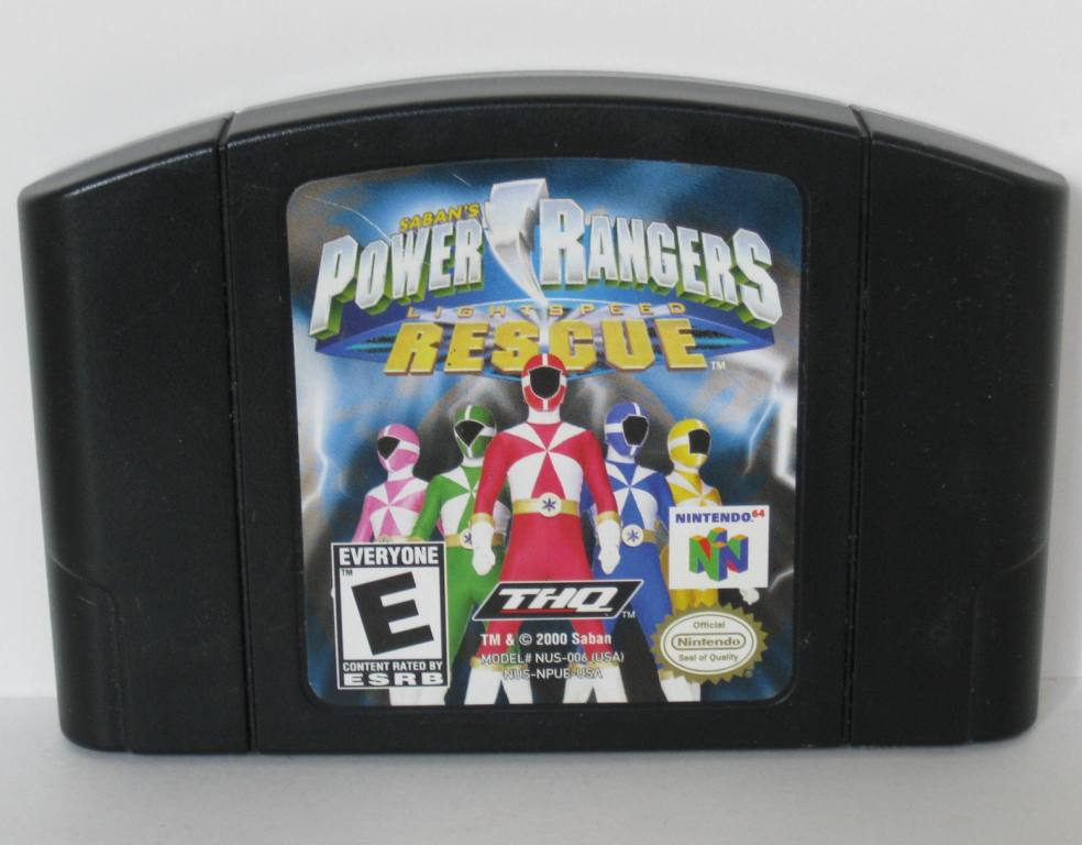 Power Rangers Lightspeed Rescue - N64 Game